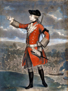 Major-General James Wolfe: Battle of Quebec 13th September 1759 in the French and Indian War or the Seven Years War