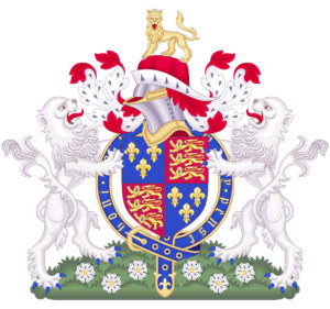 Coat of Arms of King Edward IV: Battle of Barnet on 14th April 1471 in the Wars of the Roses