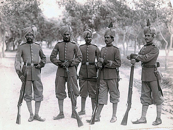 Soldiers of the 2nd Sikhs: Black Mountain Expedition from 1st October 1888 to 13th November 1888 on the North-West Frontier of India