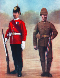 West Yorkshire Regiment: the Regiment's Second Battalion fought at the Battle of Colenso on 15th December 1899