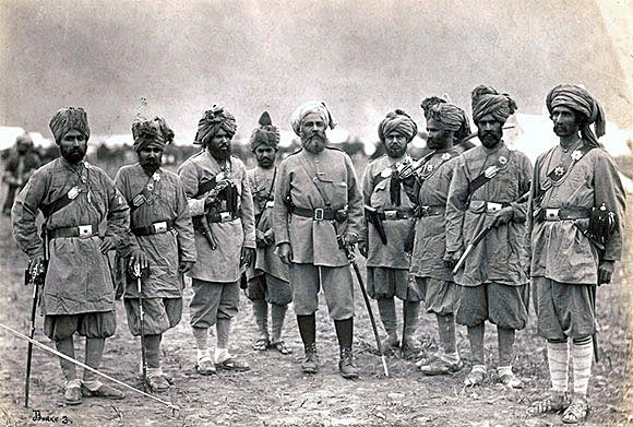 Officers of the Khyber Rifles: Black Mountain Expedition from 1st October 1888 to 13th November 1888 on the North-West Frontier of India