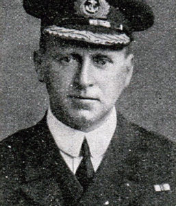 Commander Loftus Jones Royal Navy awarded a posthumous Victoria Cross for his conduct as captain of the destroyer HMS Shark in the Battle of Jutland on 31st May 1916