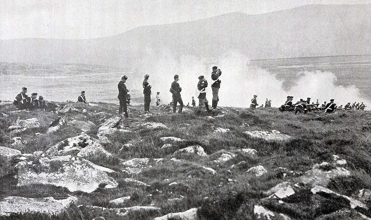 Royal Artillery Mountain Battery in action: Black Mountain Expedition from 1st October 1888 to 13th November 1888 on the North-West Frontier of India