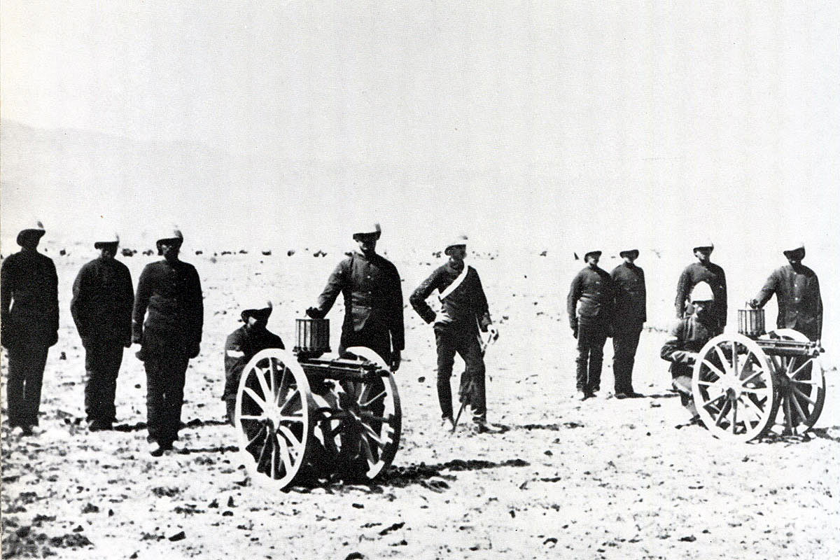 British Army Gatling Guns: Black Mountain Expedition from 1st October 1888 to 13th November 1888 on the North-West Frontier of India