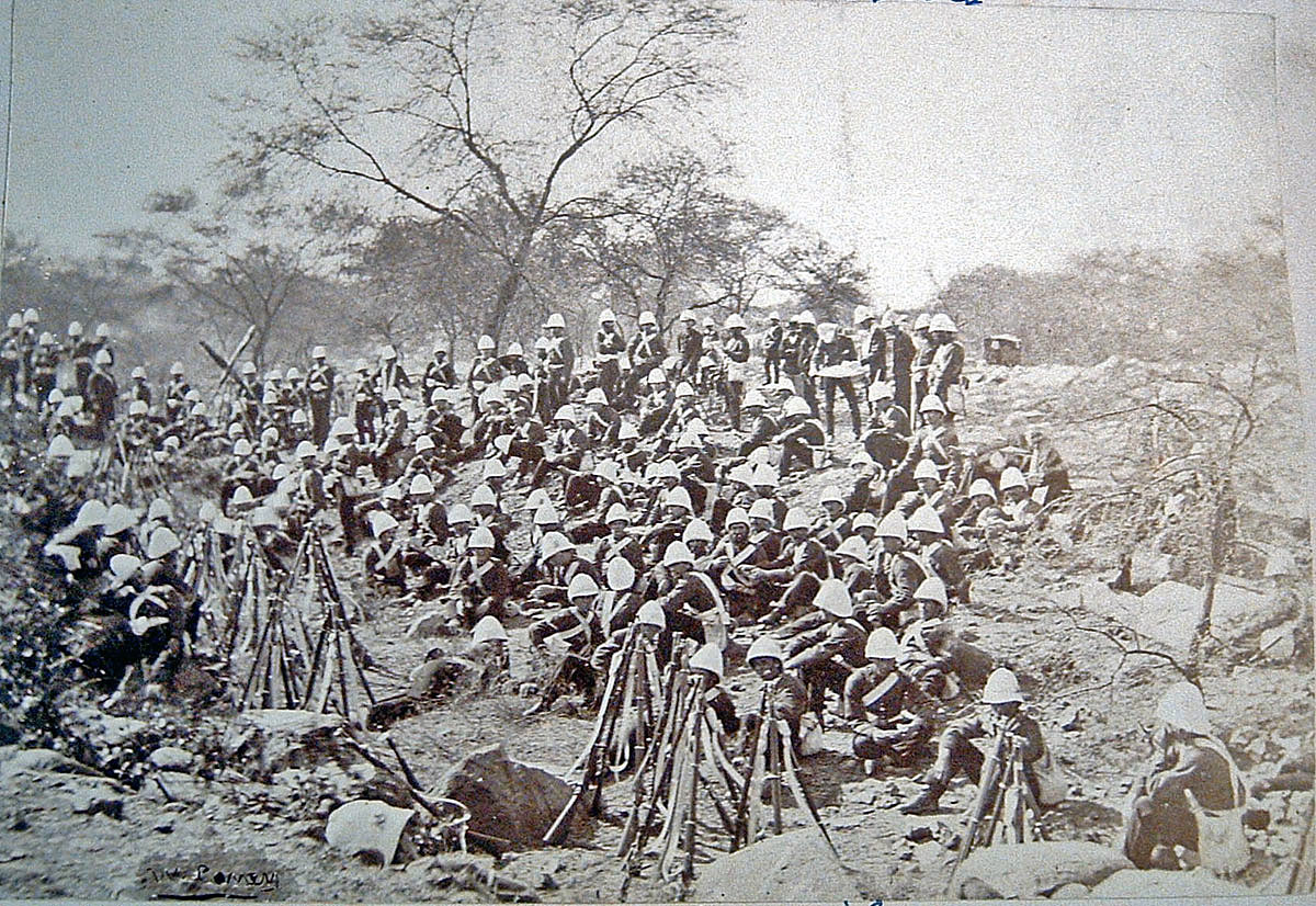 British troops: Black Mountain Expedition from 1st October 1888 to 13th November 1888 on the North-West Frontier of India