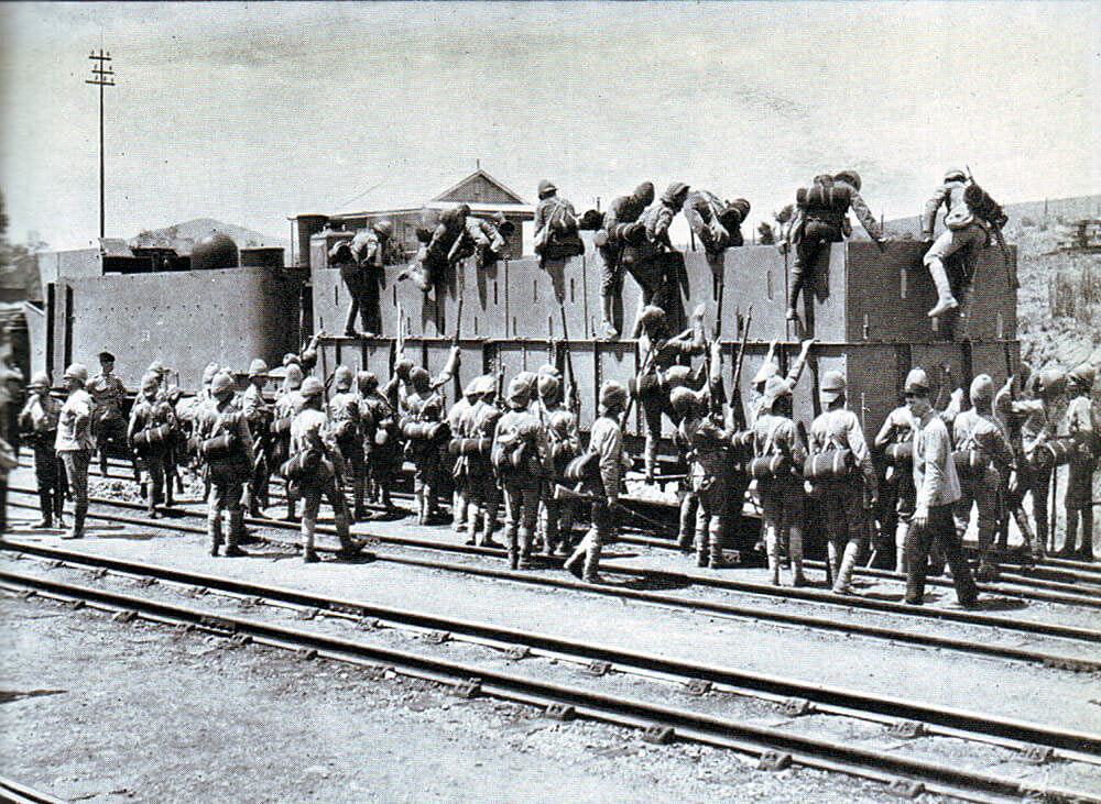 Armoured Train used in Northern Natal by Buller's Army during the Boer War