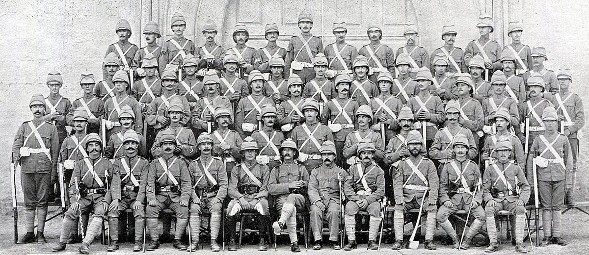 NCOs of 2nd Northumberland Fusiliers: Black Mountain Expedition from 1st October 1888 to 13th November 1888 on the North-West Frontier of India