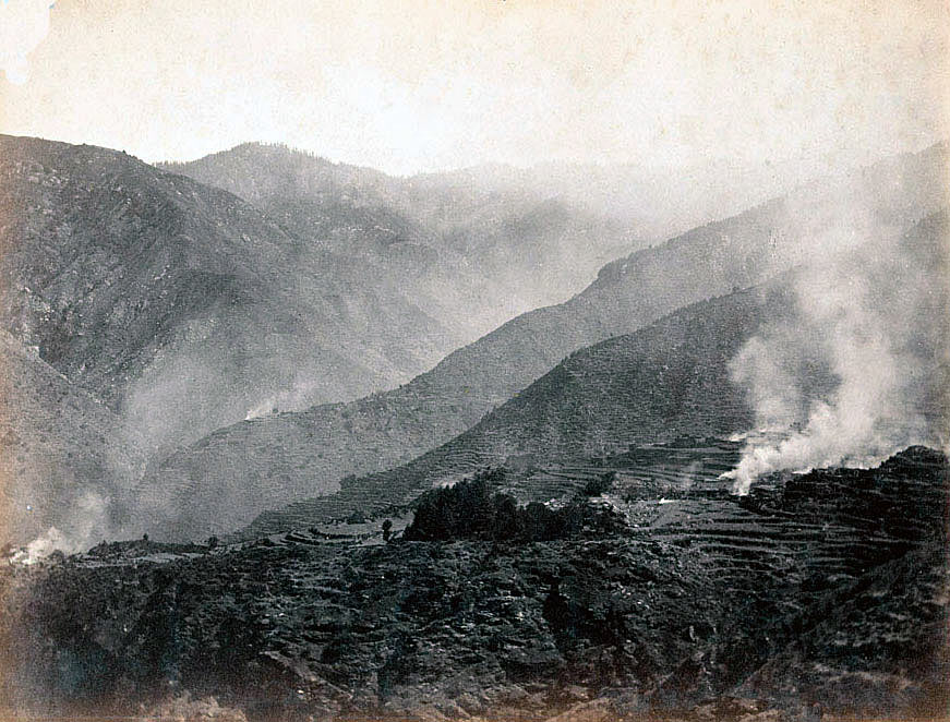 Burning villages: Black Mountain Expedition from 1st October 1888 to 13th November 1888 on the North-West Frontier of India