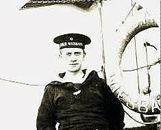 Seaman Johann Wilhelm Kinau of SMS Weisbaden. Kinau wrote the popular novel 'Seefahrt ist nott' and was killed at the Battle of Jutland when the Weisbaden was sunk