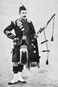 Seaforth Highlanders Pipe Major: Black Mountain Expedition from 1st October 1888 to 13th November 1888 on the North-West Frontier of India