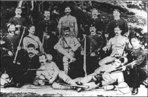 Sharpshooters from 2nd Northumberland Fusiliers: Black Mountain Expedition from 1st October 1888 to 13th November 1888 on the North-West Frontier of India