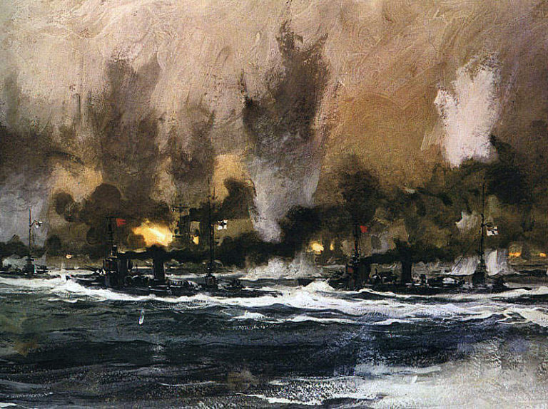 battle of jutland Battle of jutland getty images involving some 250 ships and 100,000 men, this battle off denmark's north sea coast was the only major naval surface engagement of world war i.