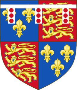 Coat of Arms of the Duke of York: Battle of Wakefield on 30th December 1460 in the Wars of the Roses