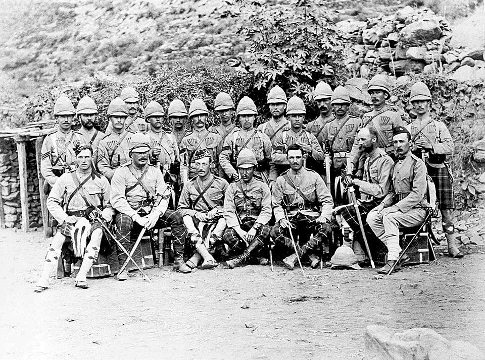 Officers and soldiers of 2nd Seaforth Highlanders: Black Mountain Expedition from 1st October 1888 to 13th November 1888 on the North-West Frontier of India