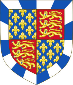 Arms of the Duke of Somerset: Battle of Towton fought on 29th March 1461 in the Wars of the Roses