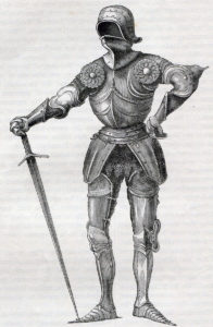 Suit of Armour: Battle of Tewkesbury on 4th May 1471 in the Wars of the Roses