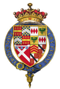 Coat of Arms of the Earl of Warwick: Battle of Barnet on 14th April 1471 in the Wars of the Roses