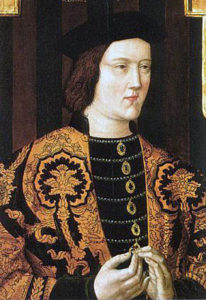 Edward, Earl of March, later King Edward IV, Yorkist commander at the Battle of Northampton on 10th July 1460 in the Wars of the Roses