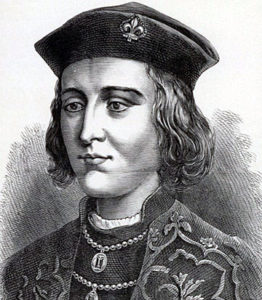 King Edward IV, Yorkist commander at the Battle of Barnet on 14th April 1471 in the Wars of the Roses