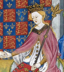 Queen Margaret of Anjou: Battle of Tewkesbury on 4th May 1471 in the Wars of the Roses