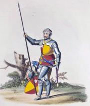 Richard de Vere, Earl of Oxford; Battle of Barnet on 14th April 1471 in the Wars of the Roses
