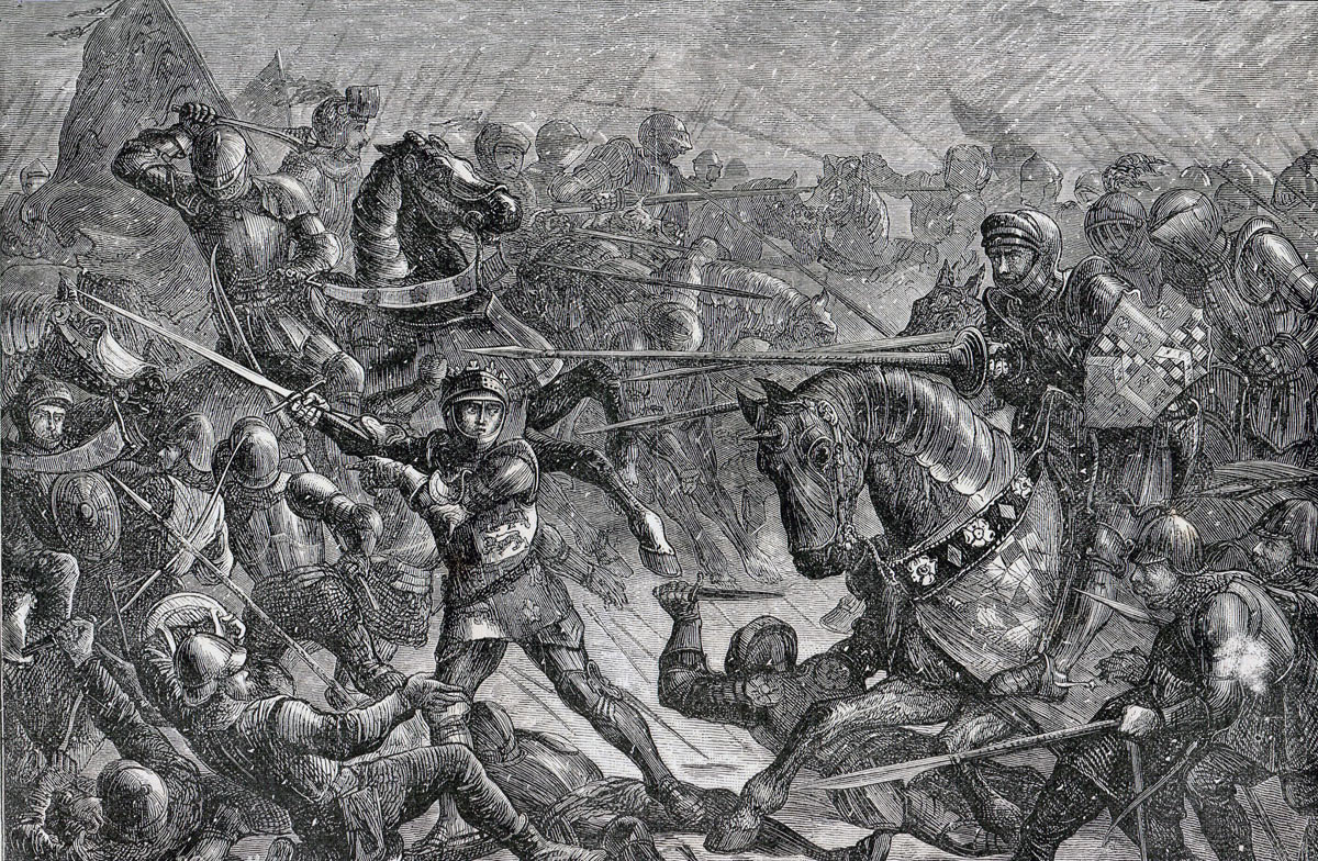 Second Battle of St Albans, fought on 17th February 1461 in the Wars of the Roses