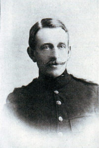 Captain Congreve, Rifle Brigade, awarded the Victoria Cross for his conduct in attempting to rescue the guns during the Battle of Colenso on 15th December 1899