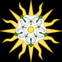 'Sun in Splendour', Edward IV's badge after the Battle of Mortimer's Cross on 3rd February 1461 in the Wars of the Roses
