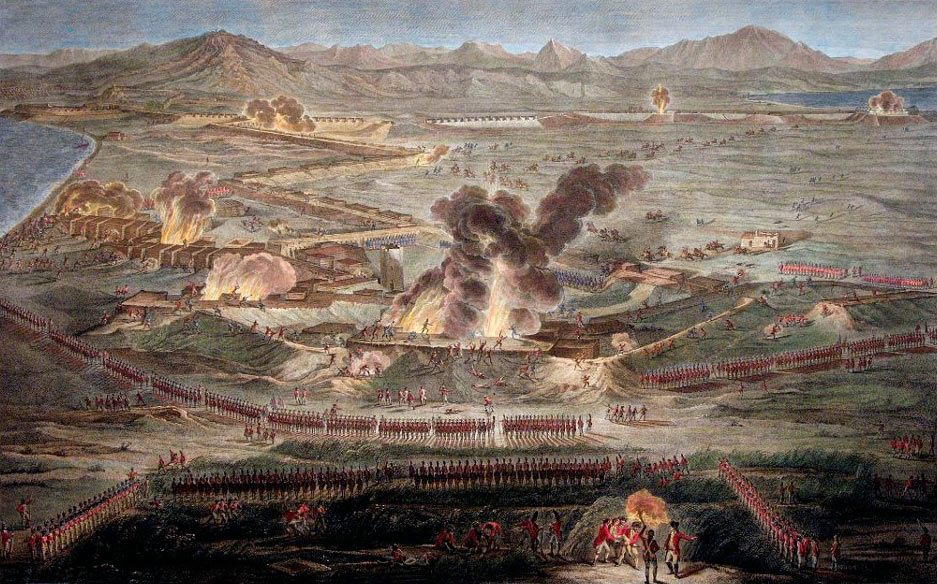 British Sortie on 26th November 1781: the Great Siege of Gibraltar from 1779 to 1783 during the American Revolutionary War