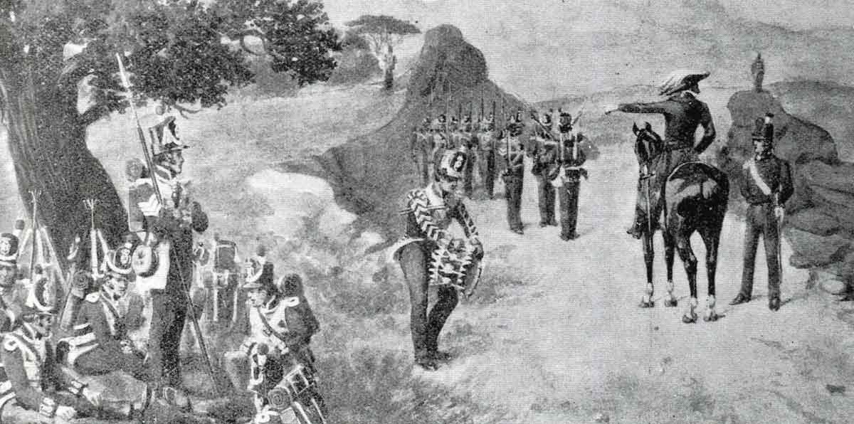 5th Foot in the Peninsular: Battle of El Bodon on 25th September 1811 in the Peninsular War