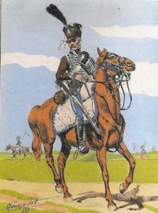 French 2nd Hussar: Battle of Campo Maior on 25th March 1811 in the Peninsular War