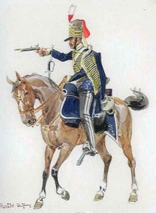 2nd Hussars, King's German Legion: Battle of Arroyo Molinos on 28th October 1811 in the Peninsular War