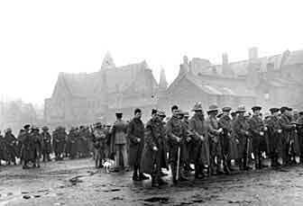 1st Royal Munster Fusiliers in Coventry on 11th January 1915 before leaving for Gallipoli as part of the 29th Division and landing on V Beach Cape Helles from the collier River Clyde on 25th April 1915