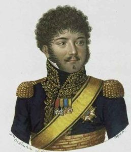 General de Division Louis-Pierre de Montbrun, French commander at the Battle of El Bodon on 25th September 1811 in the Peninsular War