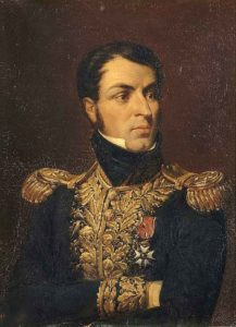 General Jean-Louis Reynier, French commander at the Battle of Sabugal on 3rd April 1811 in the Peninsular War