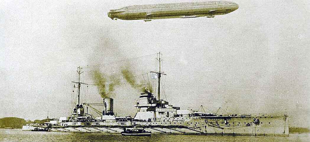 German battle cruiser SMS Seydlitz: Seydlitz was Admiral Hipper's flagship in the Battle of Dogger Bank on 24th January 1915 in the First World War