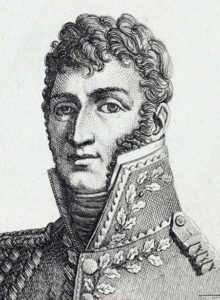 General Latour Maubourg, French commander at the Battle of Campo Maior on 25th March 1811 in the Peninsular War