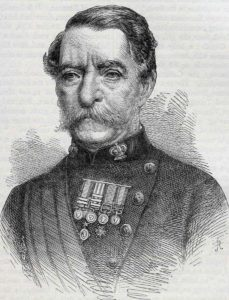 Sir Robert Napier, British commander at the Battle of Magdala on 13th April 1868 in the Abyssinian War