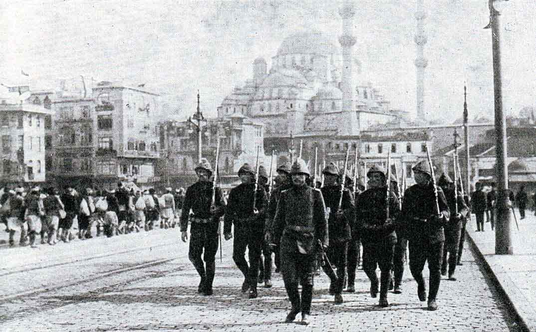 Ottoman Turkish troops: Gallipoli Part III, ANZAC landing on 25th April 1915 in the First World War