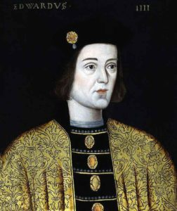 Edward, Earl of March, Yorkist commander at the Battle of Mortimer's Cross on 3rd February 1461 in the Wars of the Roses