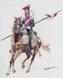 rench army Lancers of Berg: Battle of El Bodon on 25th September 1811 in the Peninsular War