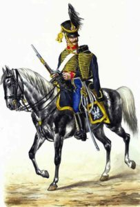 French 10th Hussar: Battle of Campo Maior on 25th March 1811 in the Peninsular War