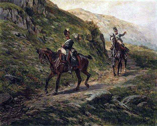 British 16th Light Dragoons: Battle of El Bodon on 25th September 1811 in the Peninsular War