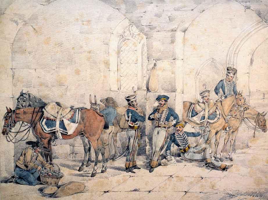 1st Hussars of the King's German Legion: Battle of El Bodon on 25th September 1811 in the Peninsular War