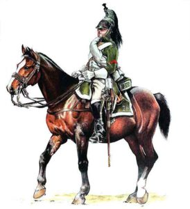 French 26th Dragoon: Battle of Campo Maior on 25th March 1811 in the Peninsular War