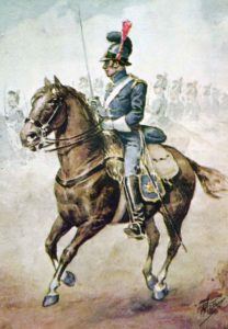 Portuguese Cavalry: Battle of Usagre on 25th May 1811 in the Peninsular War