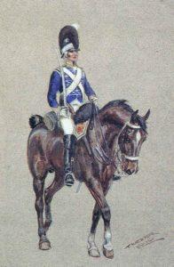British 11th Light Dragoons: Battle of El Bodon on 25th September 1811 in the Peninsular War