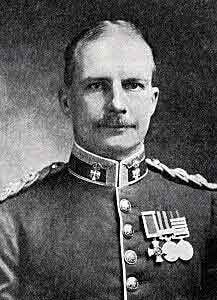 Lieutenant Colonel Sinclair-McLagan commanding 3rd Australian Brigade in the Anzac landings on 25th April 1915