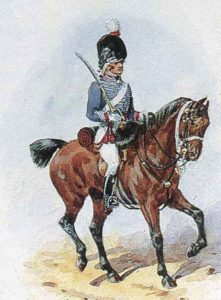 British 13th Light Dragoon: Battle of Campo Maior on 25th March 1811 in the Peninsular War