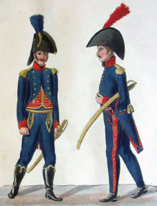 French Artillery Officers: Storming of Badajoz on 6th April 1812 in the Peninsular War